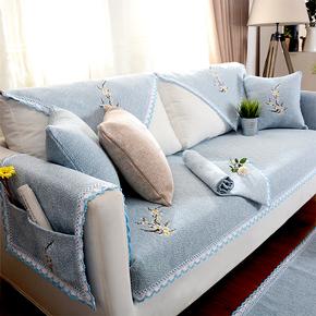 沙发垫四季通用布艺纯棉防滑简约现代万能田园客厅棉麻沙发套罩巾