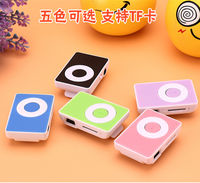 Mini belt clip MP3 with sound super cute students learn English running listening song card mp3 music player