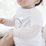 Baby sleeping guard arm sleeve cotton summer thin section breathable air conditioning newborn baby care arm cuff antifreeze
