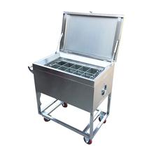 光食堂餐厅饭店全自动带烘干筷子消毒机机商用不锈钢勺子消毒柜