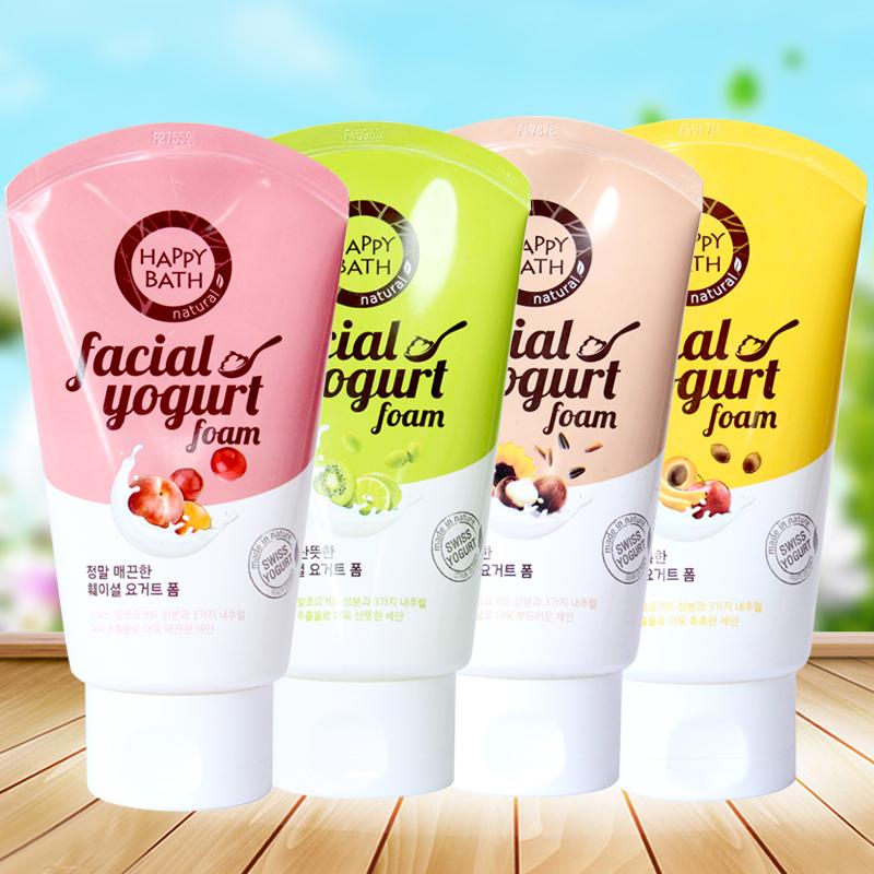 韩国进口正品 爱茉莉泡沫洗面奶滋润保湿清洁控油水果精华4款可选
