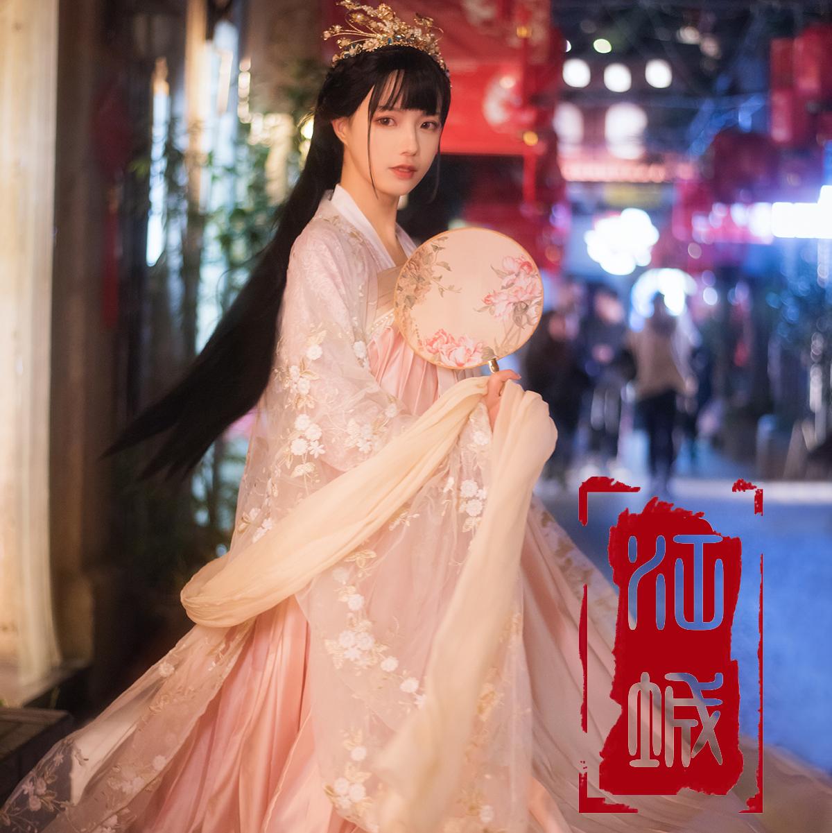 江城记原创汉服《织女星》现货/预售 春夏秋女一片式六米齐胸襦
