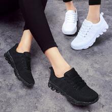 子跑步秋季 学生内增高小黑鞋 运动鞋 女士休闲2019夏季ins百搭新款图片