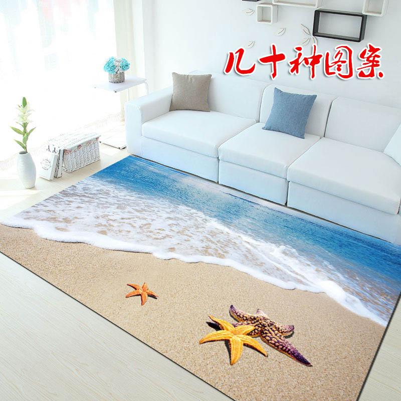 蓝色地毯地中海