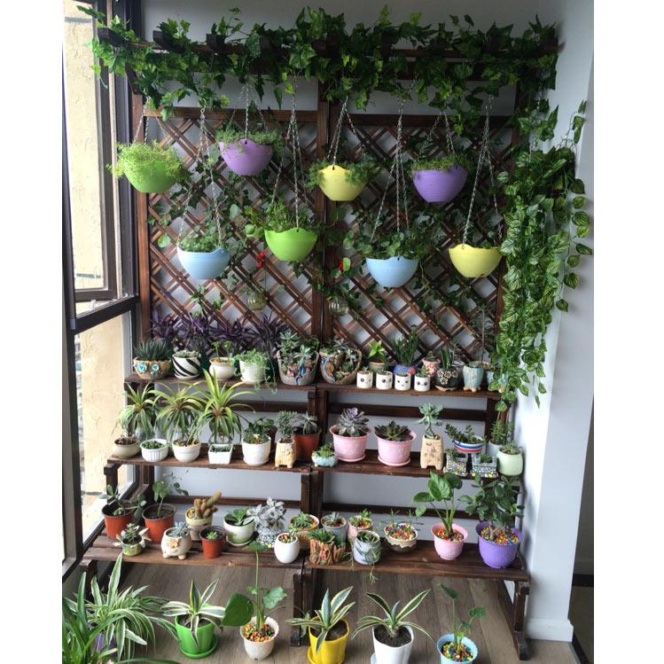 碳化木防腐木花架
