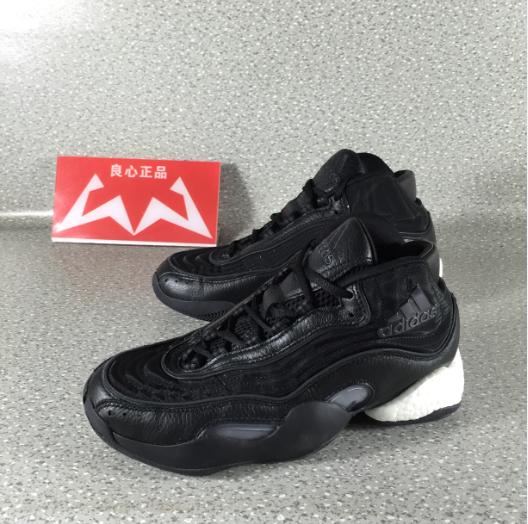 Adidas 98 x Crazy BYW BOOST 科比天足复刻黑武士篮球鞋 EE3613