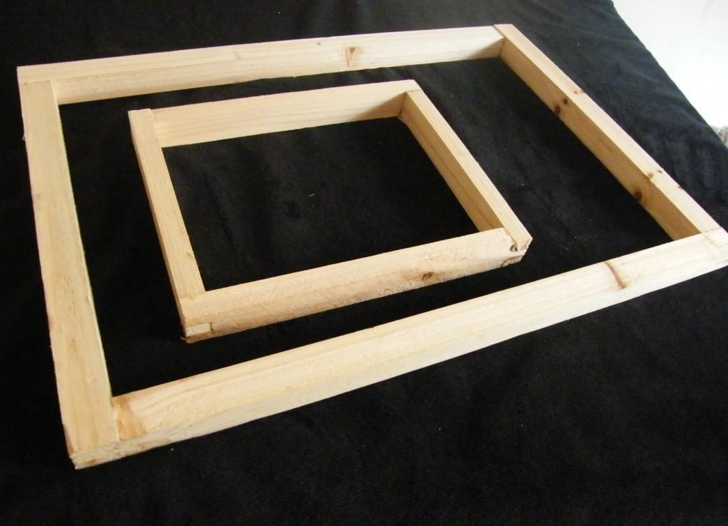 丝印网框木框印花制版网框 丝网印刷晒版材料 丝印网版丝印材料