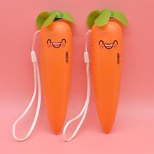 创意卡通胡萝卜手持迷你电风扇USB充电可爱学生随身便携式小风扇