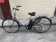 日本进口08款二手普利司通电动助力自行车26寸内三速高帅不锈钢圈