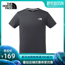 The North Face North Spring and Summer New Short Sleeve T-shirt for Men Outdoor Sports Breathable Speed Dryer Loose 3V8R