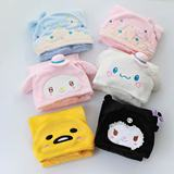 Cartoon Melody Little Demon Gemini Star Cape Flaning Cloak Napping Blanket Hood Cloak Little Blanket