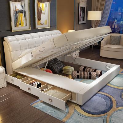 储物床皮艺床抽屉床销量排行