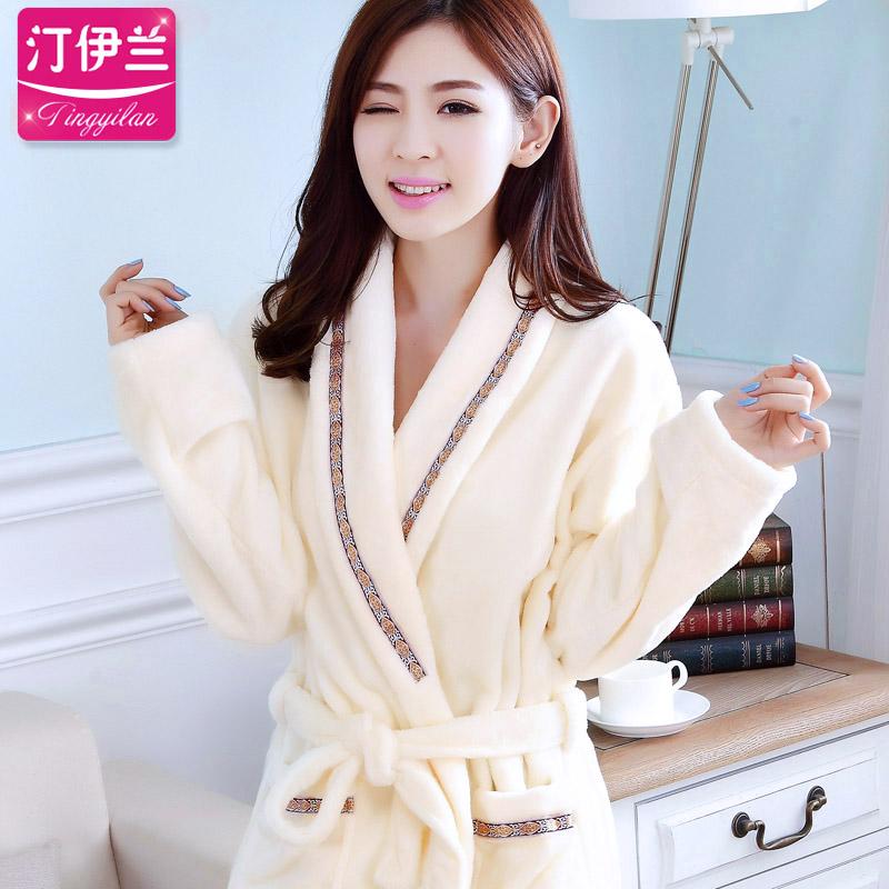 加厚和服睡袍