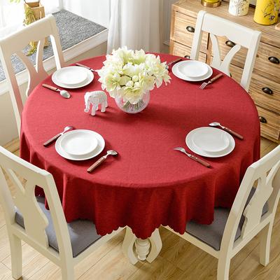 桌布椭圆形餐桌布品牌旗舰店