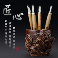 Craftsman's carving knife set Handmade woodcut carving knife Wood carving pen knife utility knife woodcut knife Rubber stamp tool