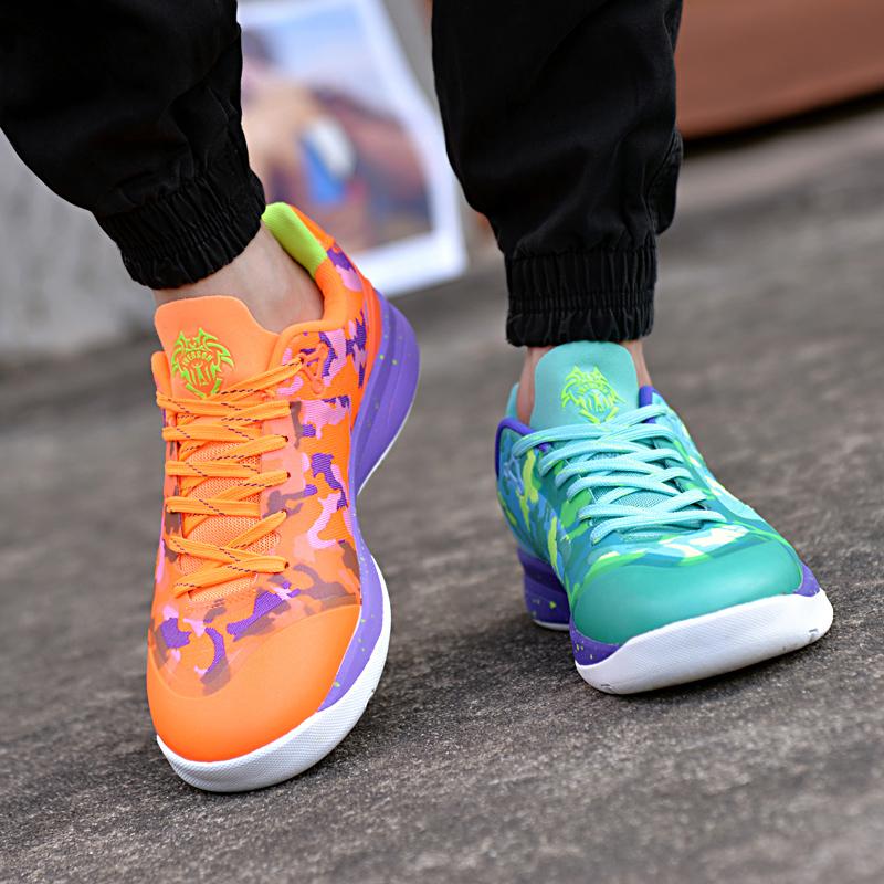 艾弗森篮球鞋男鞋低帮透气正品夏季中学生耐磨鸳鸯战靴男士运动鞋