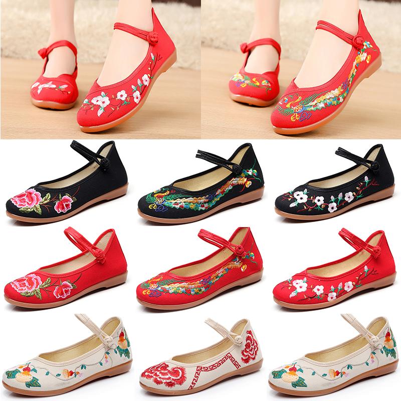 單鞋紅色婚鞋平跟