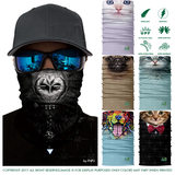 3d animals strange magic headscarf riding tourism mountain dust protection sun and wind mask men and women expression neck cover