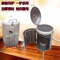 大号烤肉夹子夹烧烤架烤炉配件不锈钢工具夹板酒店烤鱼网