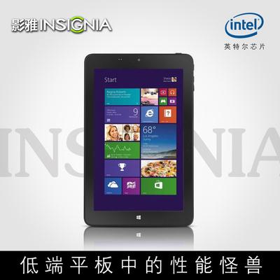 INSIGNIA/影雅 8英寸Win10平板电脑 Windows8四核二合一炒股WIFI图片