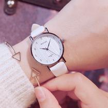 新款女士手表简约专柜正品名牌夜光腕表2018聚利时手表女julius