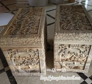 东阳木雕箱子