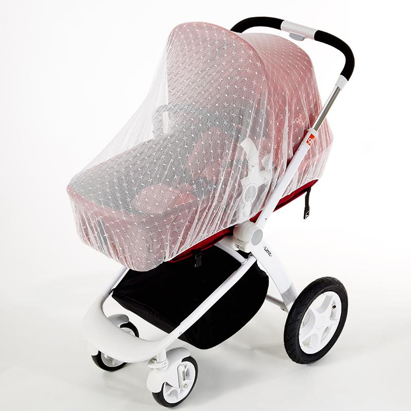 婴儿车蚊帐全罩式通用推车儿童车宝宝手推车防蚊罩伞车bb车防蚊帐