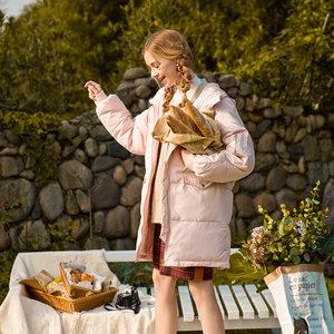 2018冬季外套新款宽松面包服ins棉服中长款韩版东大门过膝女棉衣