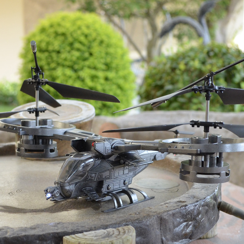 雅得阿凡达遥控飞机无人直升战斗机儿童玩具充电航模型摇控飞行器