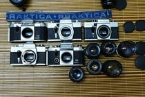 金属!全机械 道具相机 海鸥凤凰东方华夏华中百花等135胶片收藏