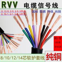 线路板玩具电线平方0.3平方0.2平方0.1多根铜丝芯软电线