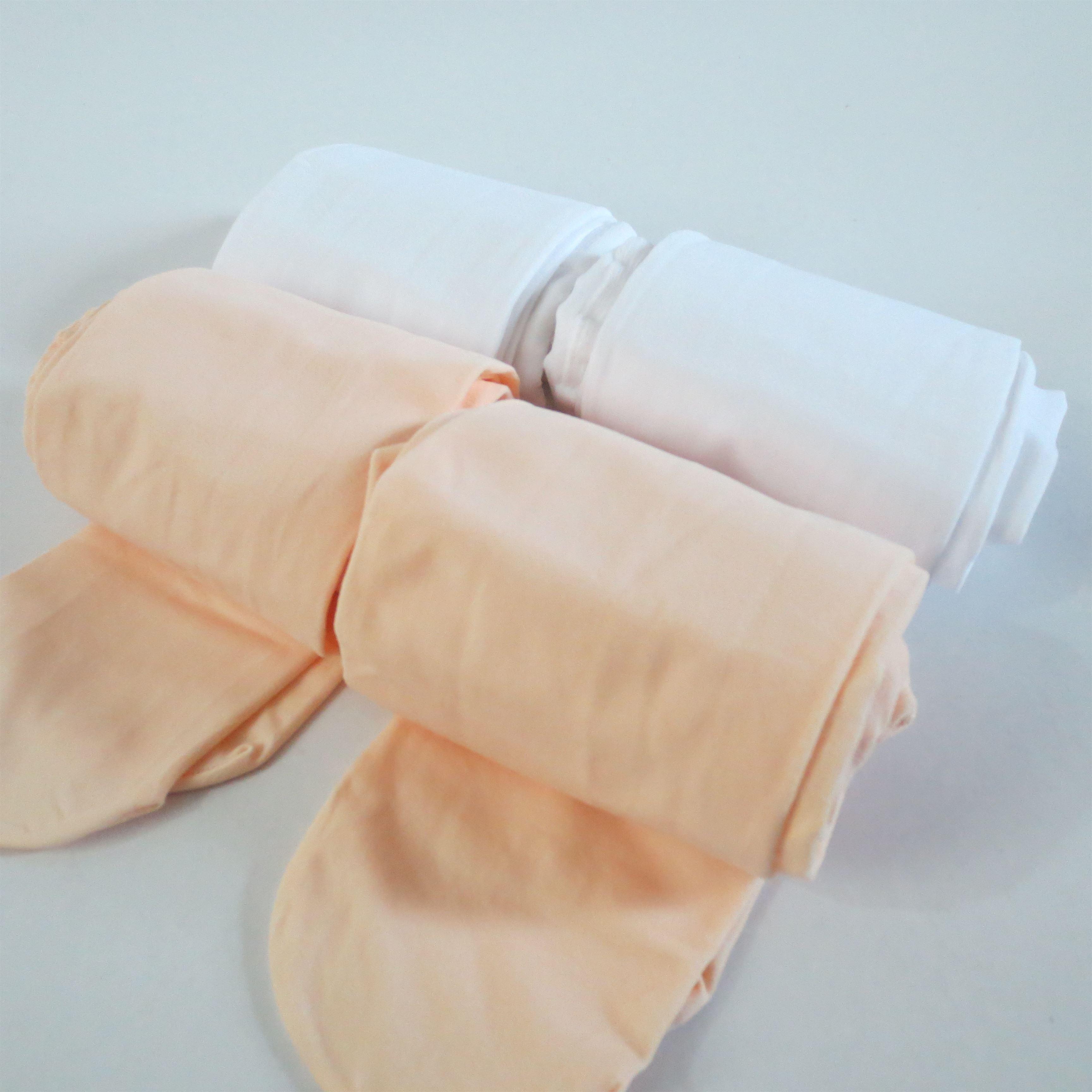 儿童舞蹈袜女童夏季薄款成人加档连裤袜练功不起球白色舞蹈袜丝袜
