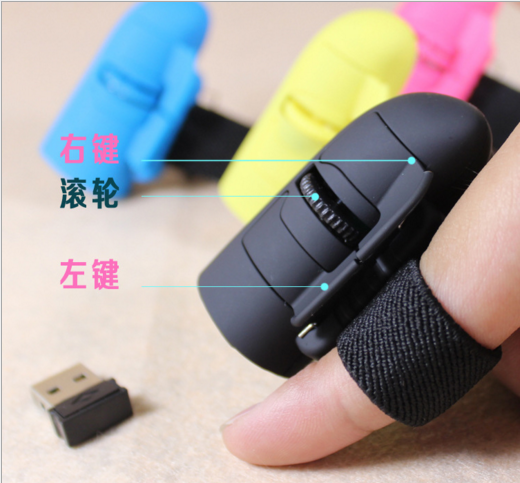Sell 2.4G Wireless Optical Ring lazy creative cute miniature Business