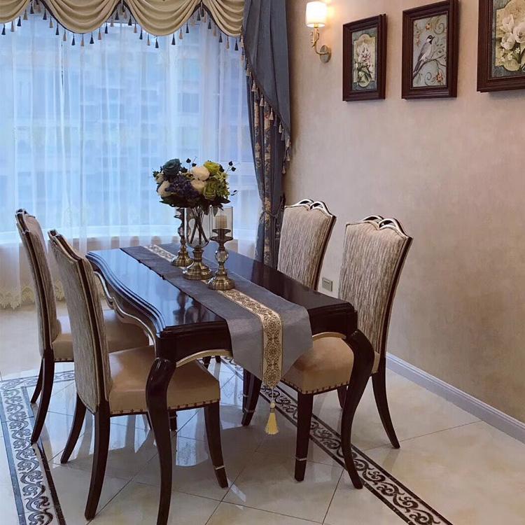 欧式 后现代餐桌餐椅