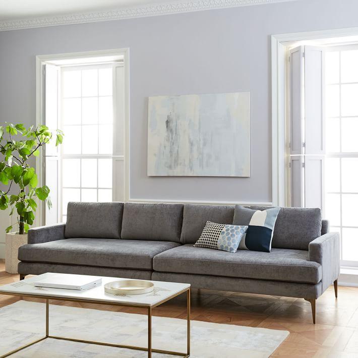客厅金色沙发