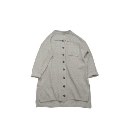 绒感质感羊毛拉绒 宽松显瘦温暖中长款针织衫开衫毛衣外套女秋冬