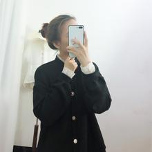 小八同学2018冬季新款宫廷风蕾丝拼接复古气质短上衣自留推荐