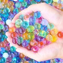 水养无毒 七彩 小学生膨胀球手工新品 水精灵水宝宝玩具 水珠宝宝