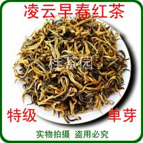 送礼礼盒高档珍品清香型380g一级散装龙王绿茶红茶芽茶叶小包