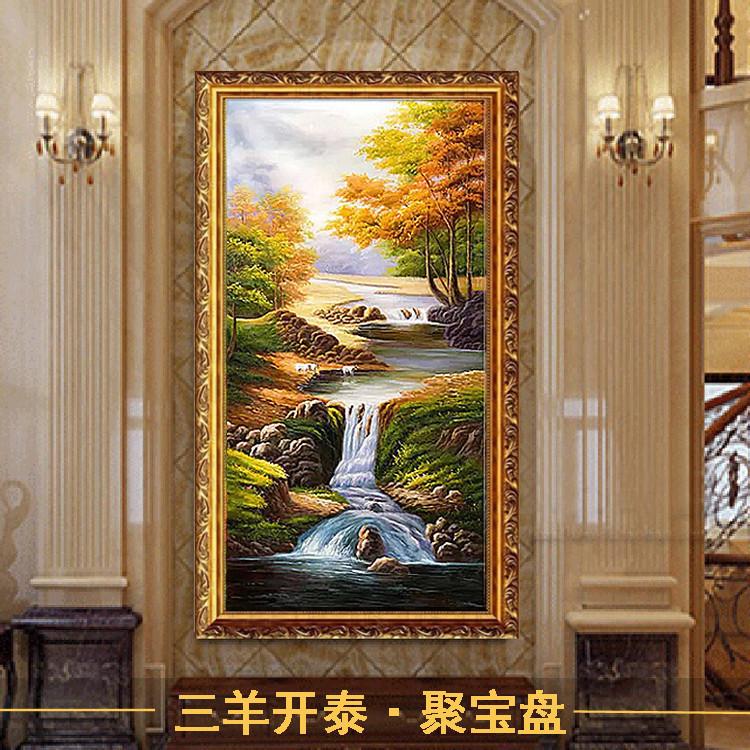 门厅画玄关画装饰画