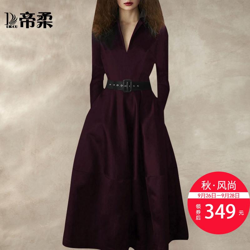 潮修身长裙