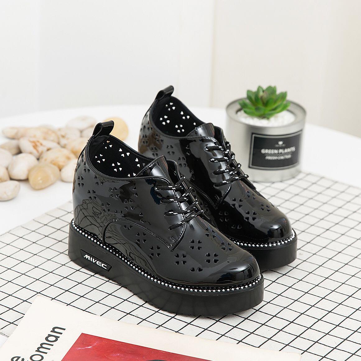 正品内增高鞋