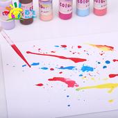 吹画滴管塑料刻度幼教幼儿园科学实验巴氏滴管一次性塑料滴画吸管