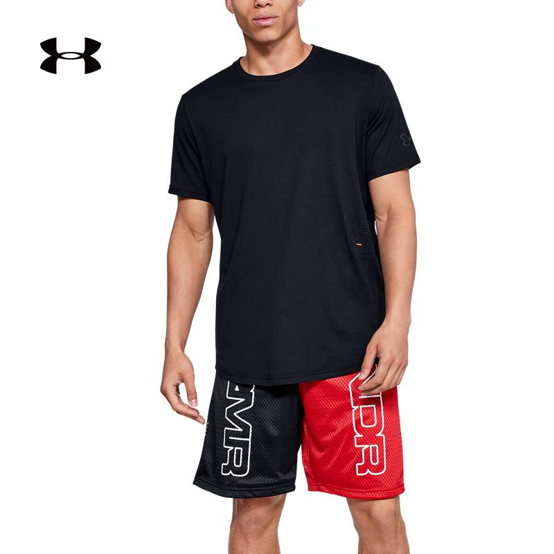 安德玛 官方 UA Baseline 男子篮球运动T恤 Under Armour-1343012