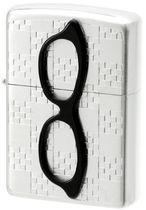 美国原装正品ZIPPO打火机正版新款黑哑漆彩印黄色眼镜28861大猩猴