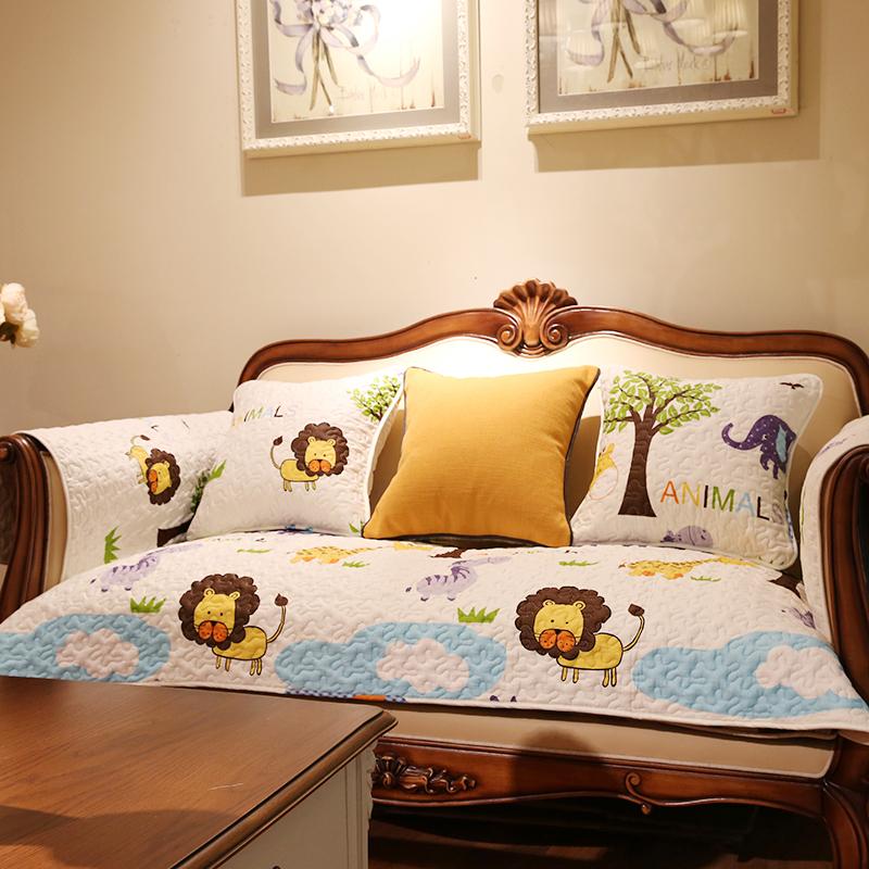 全棉韩式皮沙发
