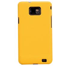 三星 I9100手机壳 保护壳 I9108手机皮纹壳 超薄硬壳 I9100保护套