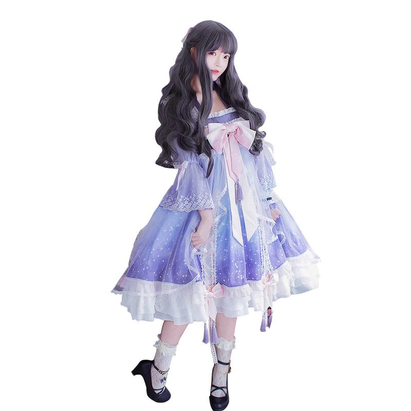 预售独家授权【Uwowo】魔卡少女樱知世cos中华风小裙子lolita洋装