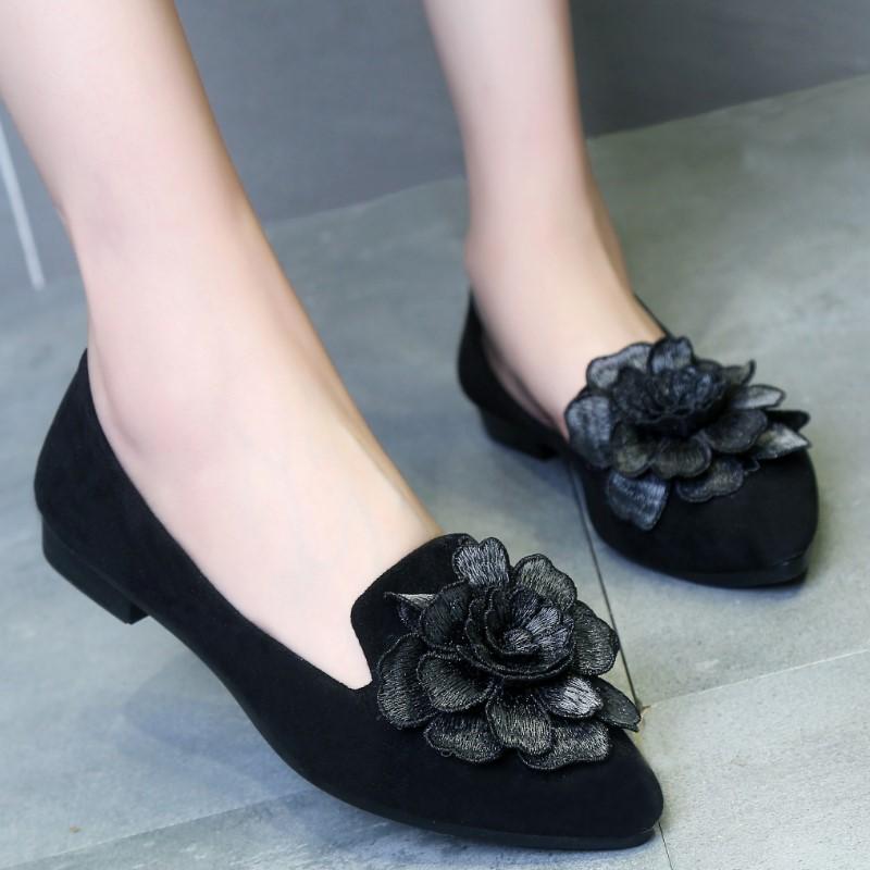 时尚花朵单鞋
