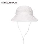 韩国同款 SPORT可隆户外女帽 KOLON 户外休闲遮脸大沿遮阳帽太阳帽